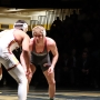Lock Haven and Arizona State wrestlers grapple during the 2018 Rumble in the Jungle.